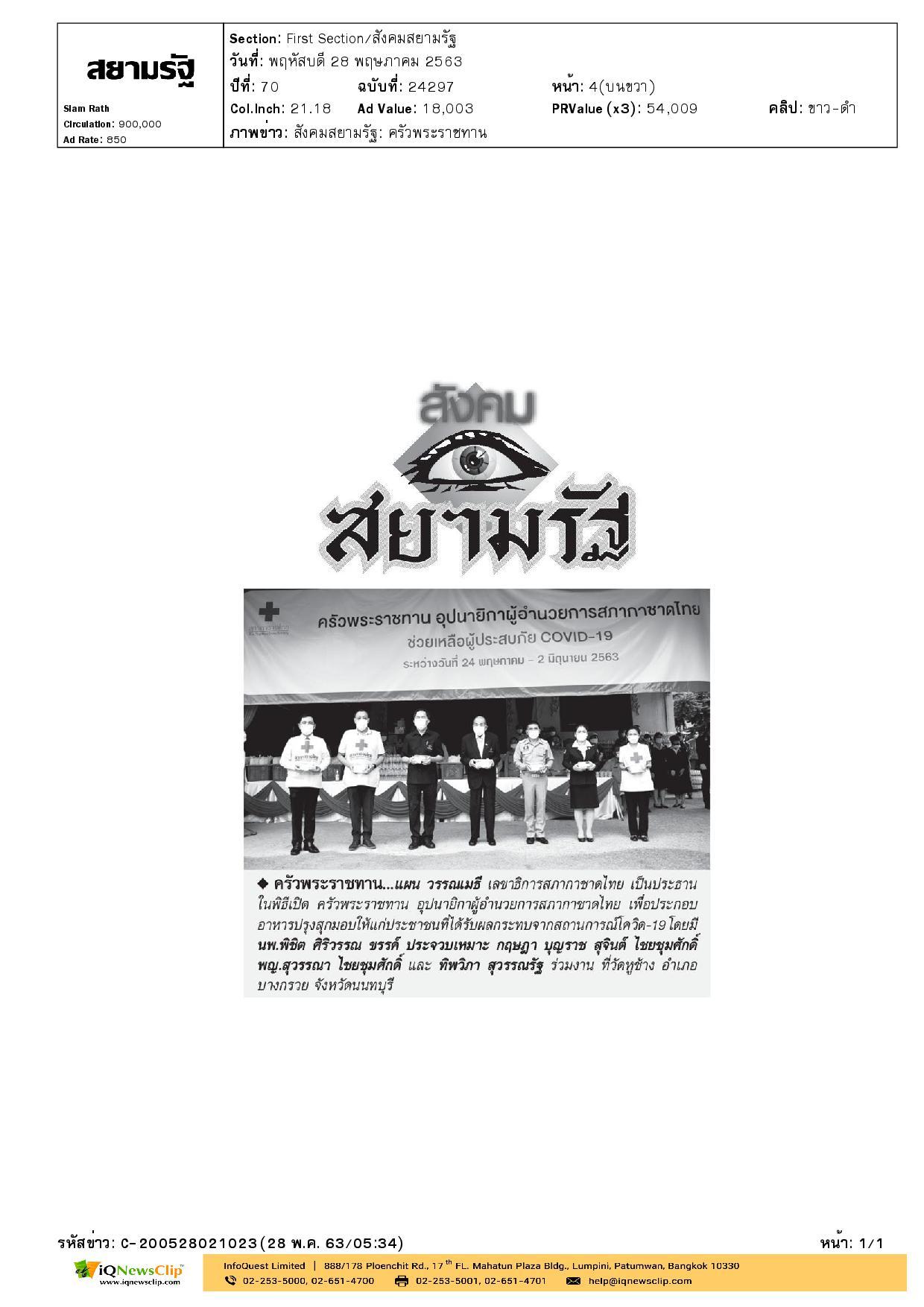 ครัวพระราชทาน จ.นนทบุรี