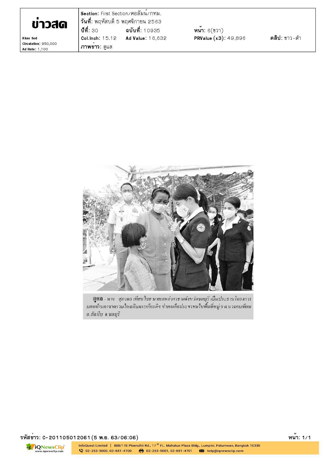 โครงการมอบบ้านกาชาดรวมใจเฉลิมพระเกียรติฯ ช่วยเหลือประชาชนชน